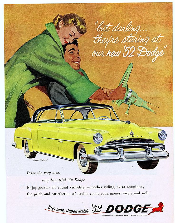 1952 Dodge advert